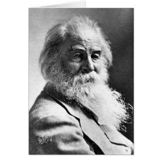 ❝Dismiss de Walt Whitman lo que insulta su Soul❞ Tarjeta De Felicitación