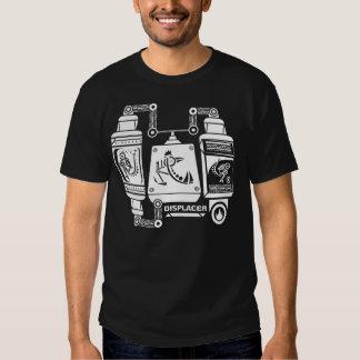 Displacer Vo de la Meta-glyphics de Custer NIC Camiseta