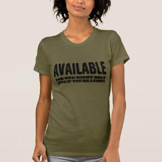 Disponible Camisetas