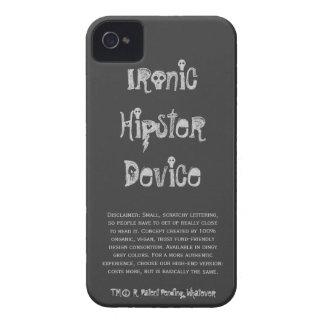 Dispositivo irónico del inconformista con iPhone Case-Mate iPhone 4 Funda