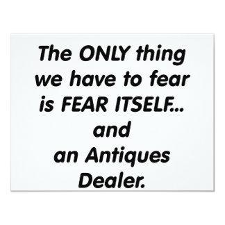 distribuidor autorizado de antigüedades del miedo comunicados personales