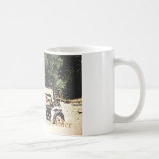 Distribuidor autorizado de desperdicios    blanco taza de café