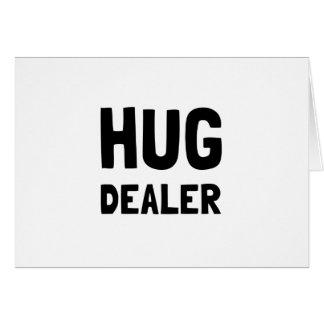 Distribuidor autorizado del abrazo tarjeta de felicitación