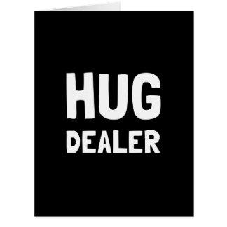 Distribuidor autorizado del abrazo tarjeta de felicitación grande