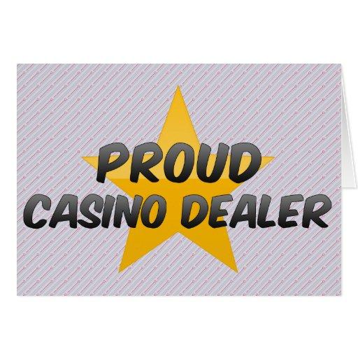 Distribuidor autorizado orgulloso del casino tarjeta
