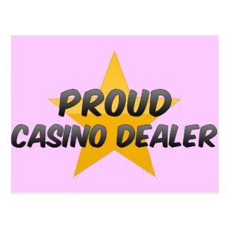 Distribuidor autorizado orgulloso del casino tarjetas postales