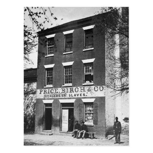 Distribuidores autorizados auxiliares, 1860s postales