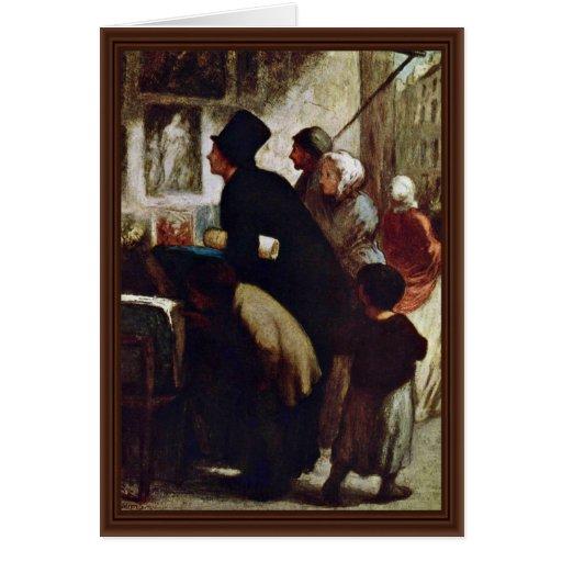 Distribuidores autorizados del grabado de Daumier  Tarjetas