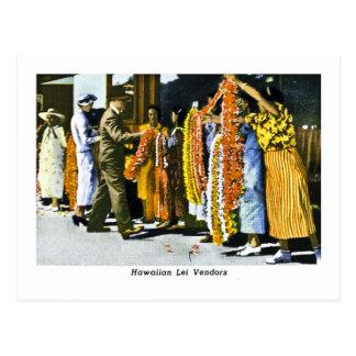 Distribuidores autorizados hawaianos de los leus tarjeta postal