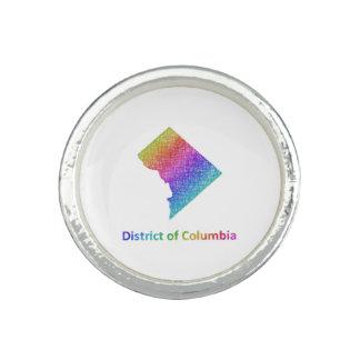 Distrito de Columbia Anillos Con Foto