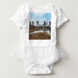 Distrito financiero central Columbus, Ohio Body Para Bebé