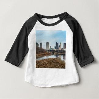 Distrito financiero central Columbus, Ohio Camiseta De Bebé