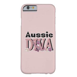 DIVA australiana Funda Para iPhone 6 Barely There