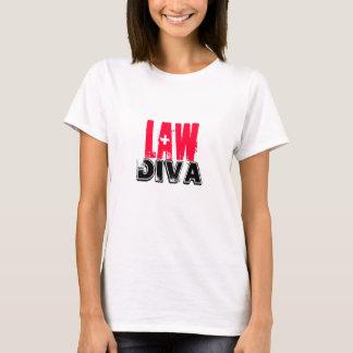 Diva de la ley de Lawyer~ Camiseta