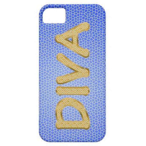 DIVA de oro iPhone 5 Case-Mate Cobertura