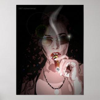 diva del smokin poster
