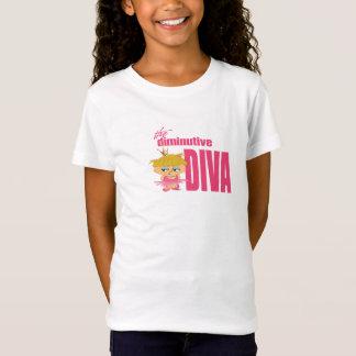 Diva diminuta camiseta