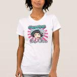 Divas del ir de discotecas - mujeres del ir de dis camiseta