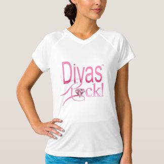 divas+gema de la regla+piedra camisetas