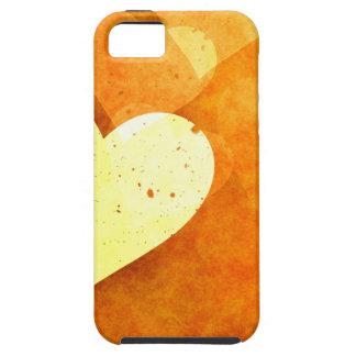 Diversión anaranjada iPhone 5 coberturas