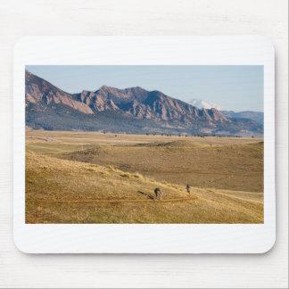 Diversión Biking de la montaña de Colorado Alfombrillas De Ratón