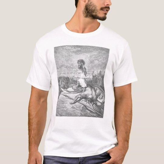 Diversión con la escritura #4 camiseta