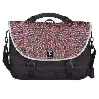 Diversión creada artista elegante de la textura bolsas para portátil