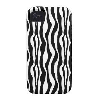 Diversión de la cebra Case-Mate iPhone 4 carcasa