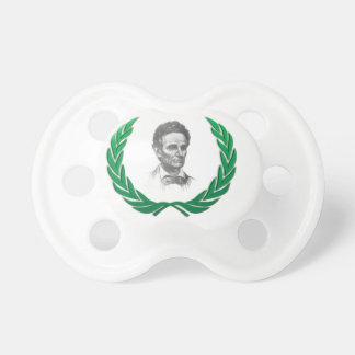 diversión de la leyenda de Lincoln Chupete De Bebé