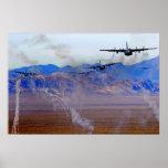 Diversión de la llamarada C-130 Impresiones