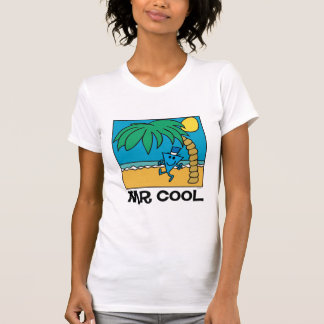 Diversión de la playa con Sr. Cool Camiseta