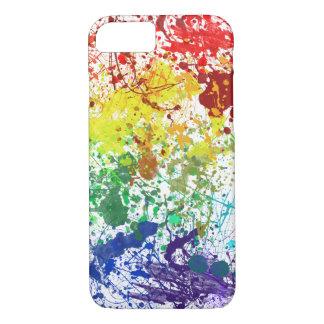 Diversión de la salpicadura del arco iris funda iPhone 7