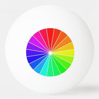 Diversión de los deportes de los arco iris de las pelota de ping pong