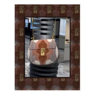 Diversión del accesorio del cuero de la cartera postal