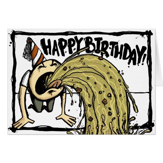 Diversión del cumpleaños tarjeta de felicitación