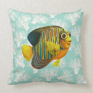 Diversión del mar de la almohada de los pescados