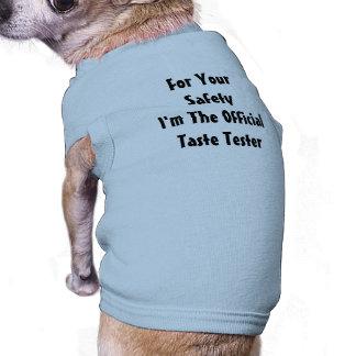 Diversión del perrito camiseta sin mangas para perro