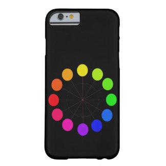 Diversión del verano de la paleta de Colorwheel Funda Para iPhone 6 Barely There