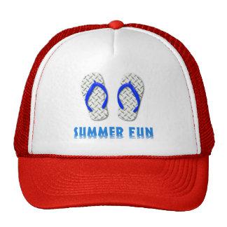 Diversión del verano del flip-flop de la placa del gorros