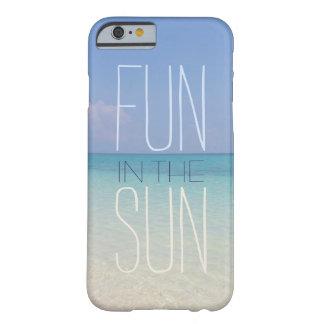 Diversión del verano en el Sun Funda De iPhone 6 Barely There