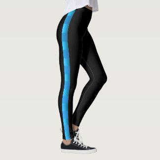 Diversión deportiva tropical leggings