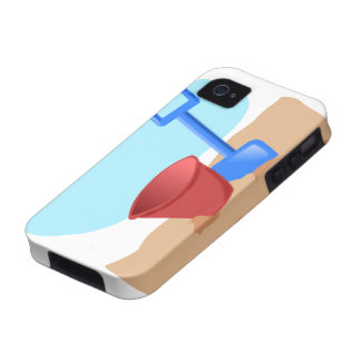 Diversión en la playa vibe iPhone 4 fundas