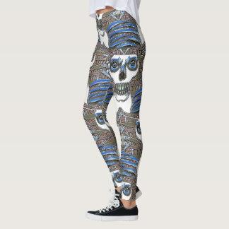 Diversión fresca del susto del espantapájaros leggings