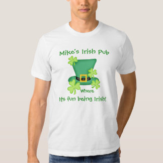Diversión que es promoción irlandesa del negocio camisetas