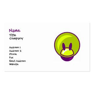 Diversión/tarjeta de visita de los niños