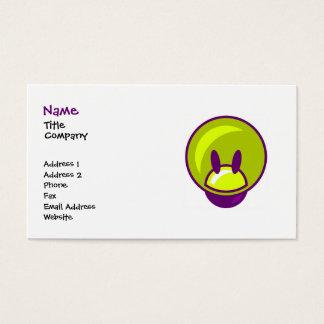 Diversión/tarjeta de visita de los niños tarjeta de negocios