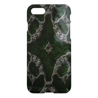 Diverso patterm blanco verde extraño funda para iPhone 7