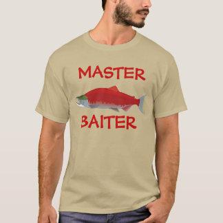 Divertido a pescado camiseta