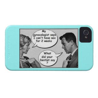 Divertido iPhone 4 Funda