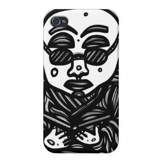 Divertido creativo afectuoso creativo iPhone 4 protector